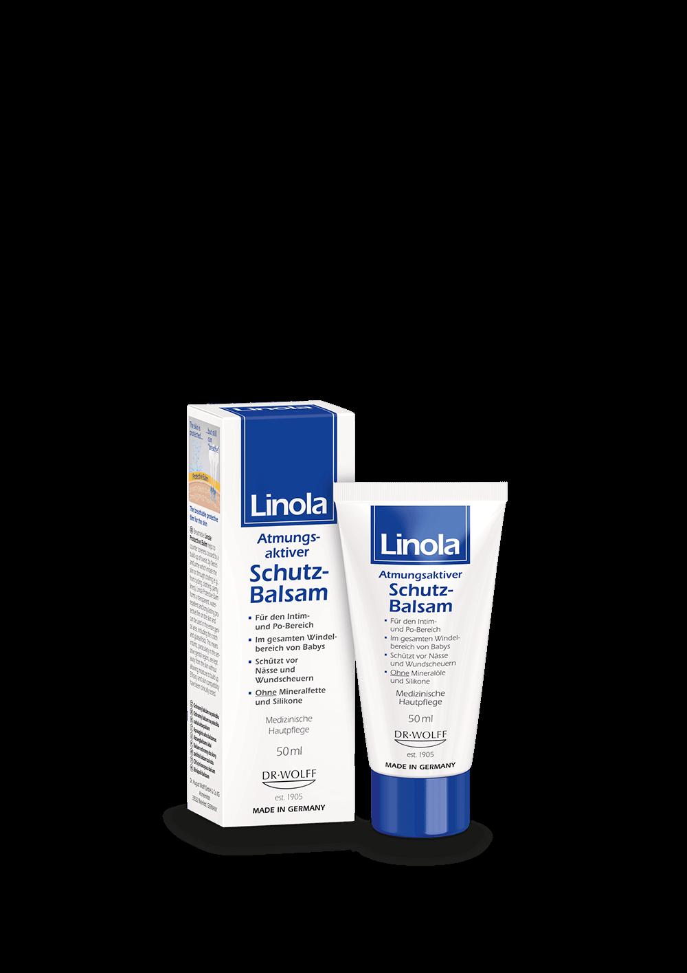 Linola Schutz-Balsam - Schutz vor Scheuern & Wundwerden
