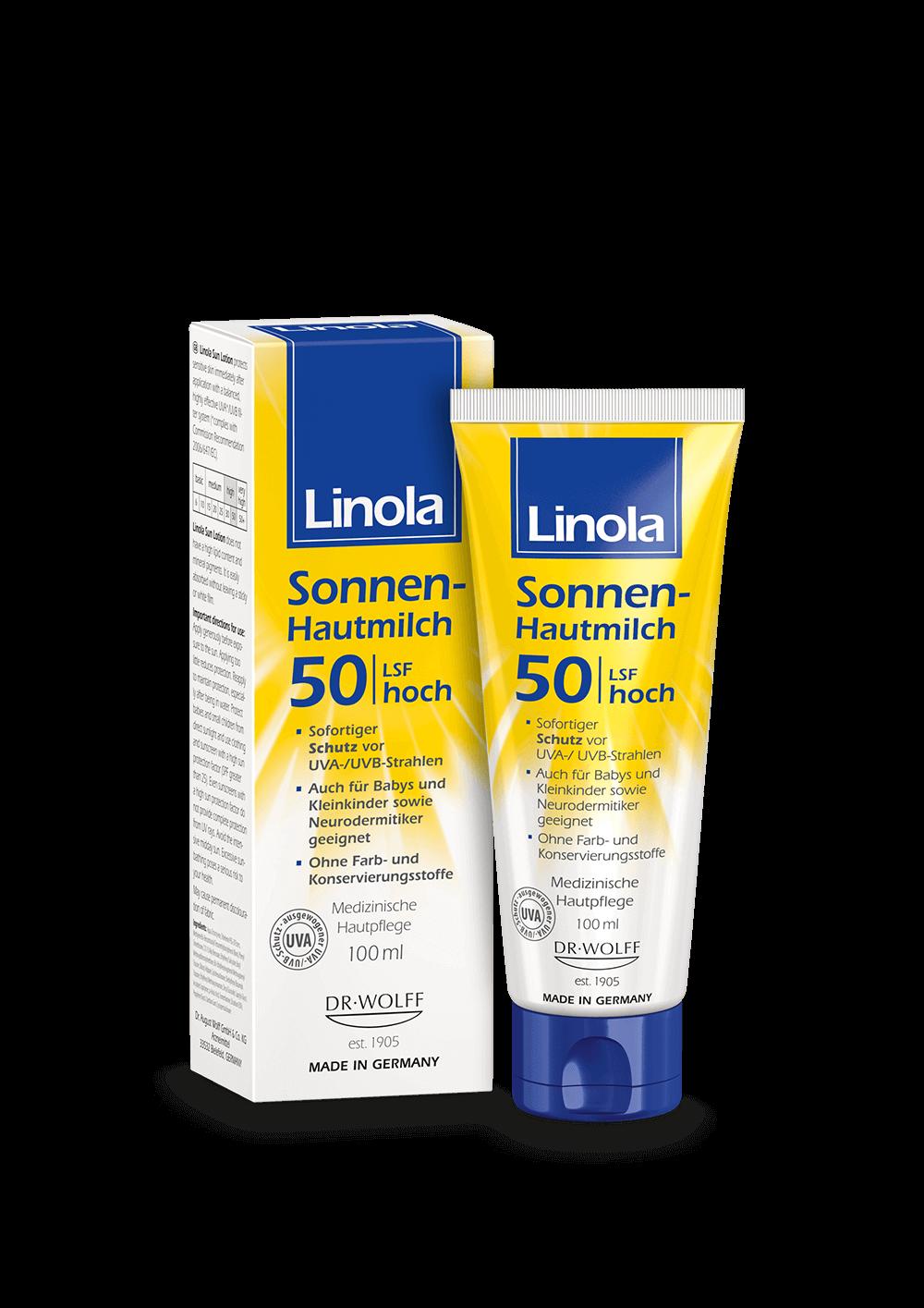 Linola Sonnen-Hautmilch